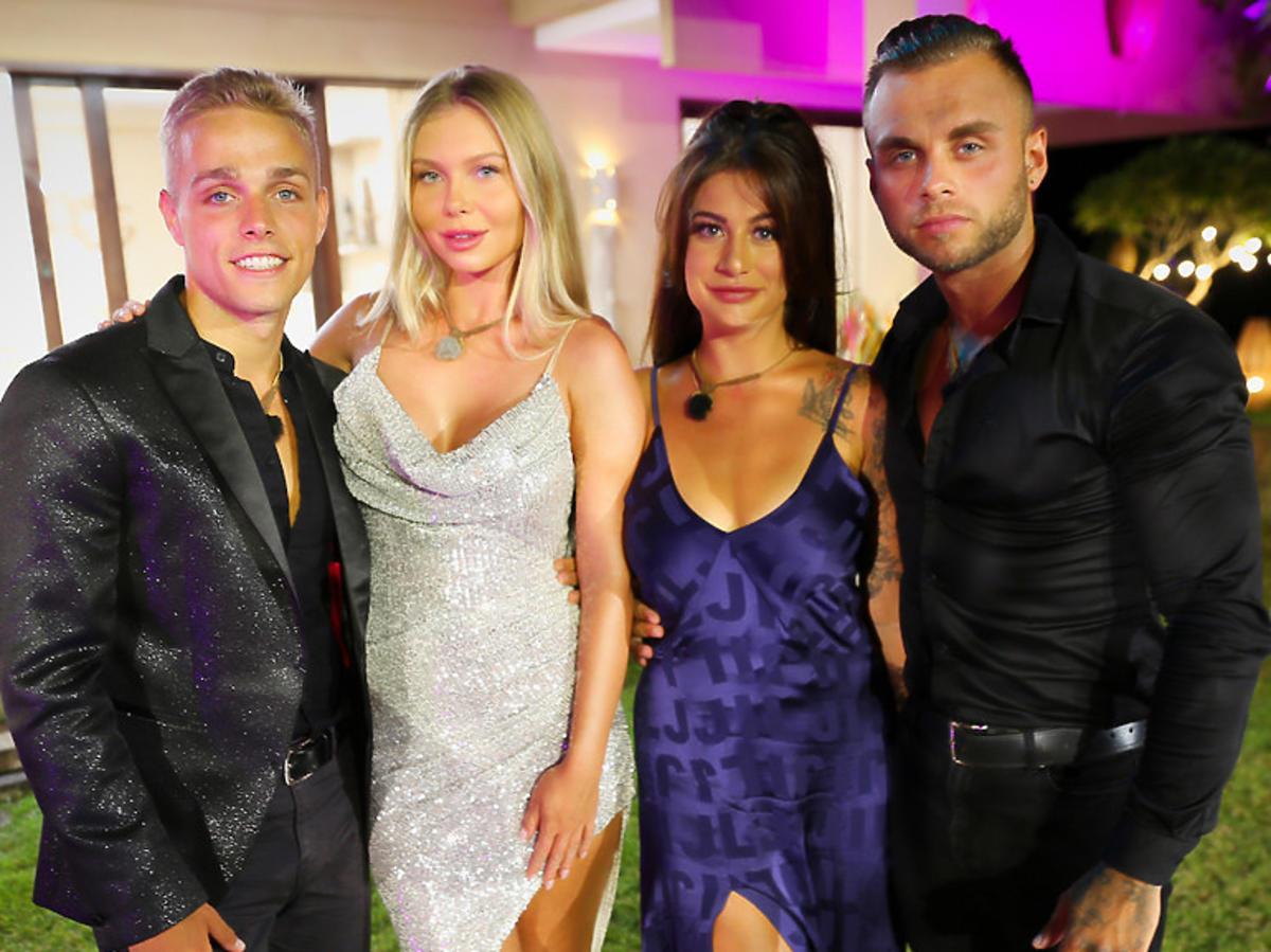 "Finał ""Hotelu Paradise"" - Chris, Marietta, Blondino i Martyna"