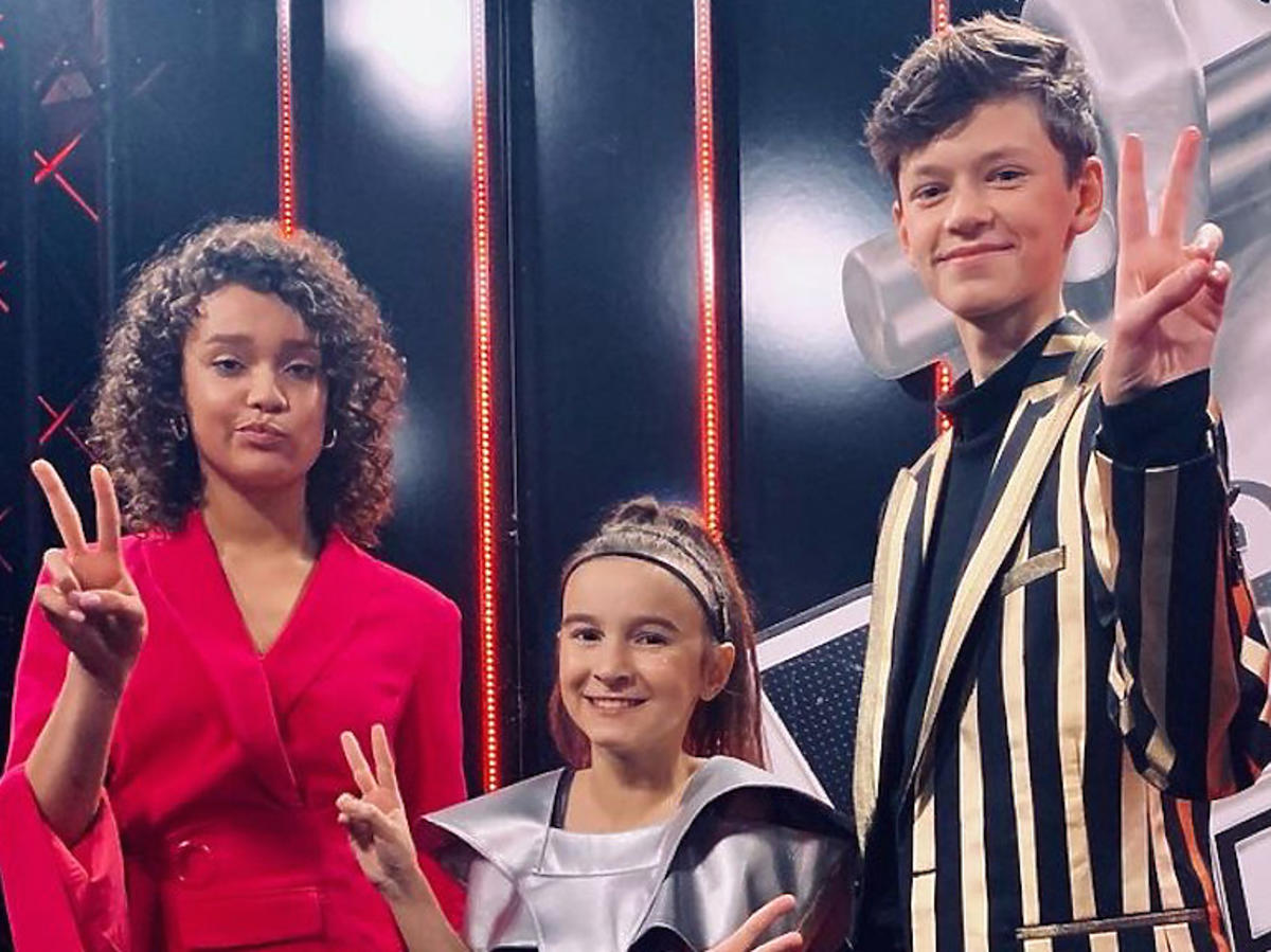 Finał The Voice Kids - Sara, Olek i Tatiana
