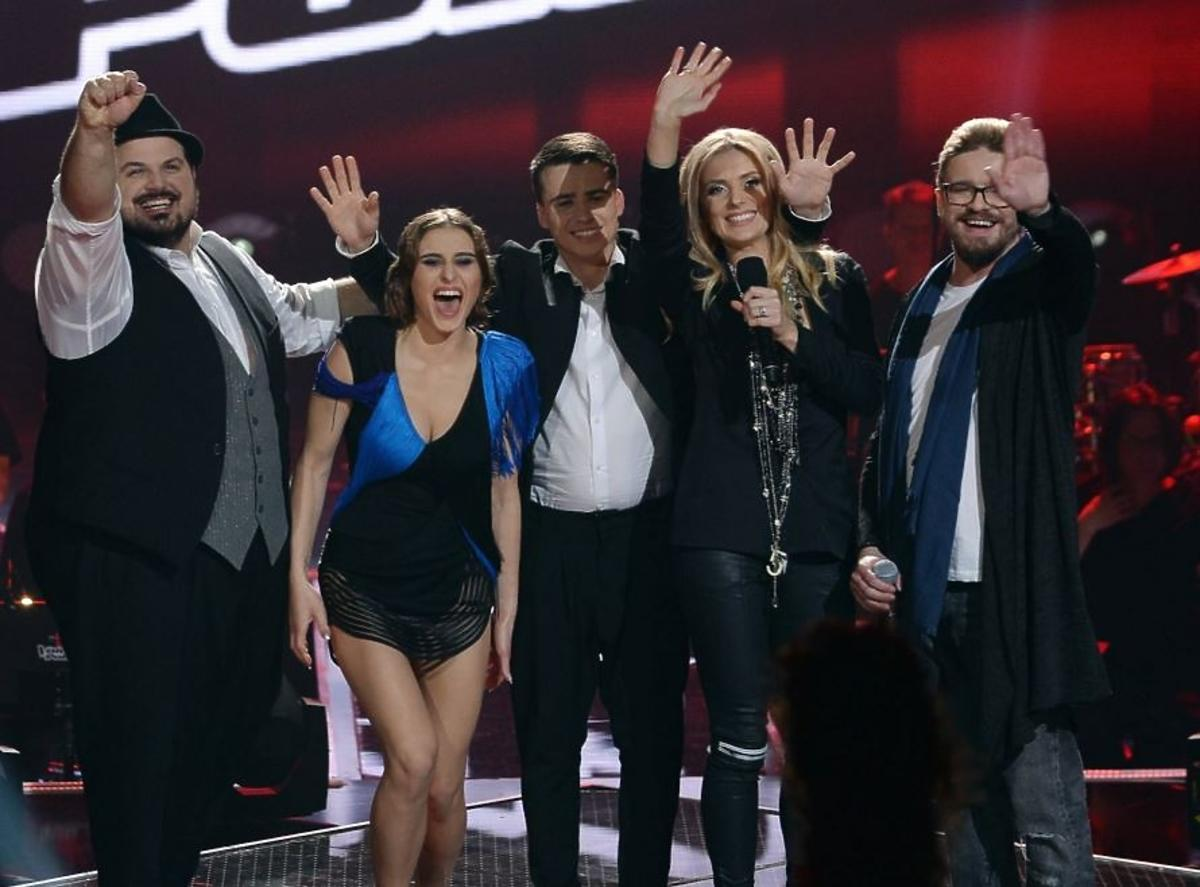 Finaliści na scenie The Voice od Poland 6