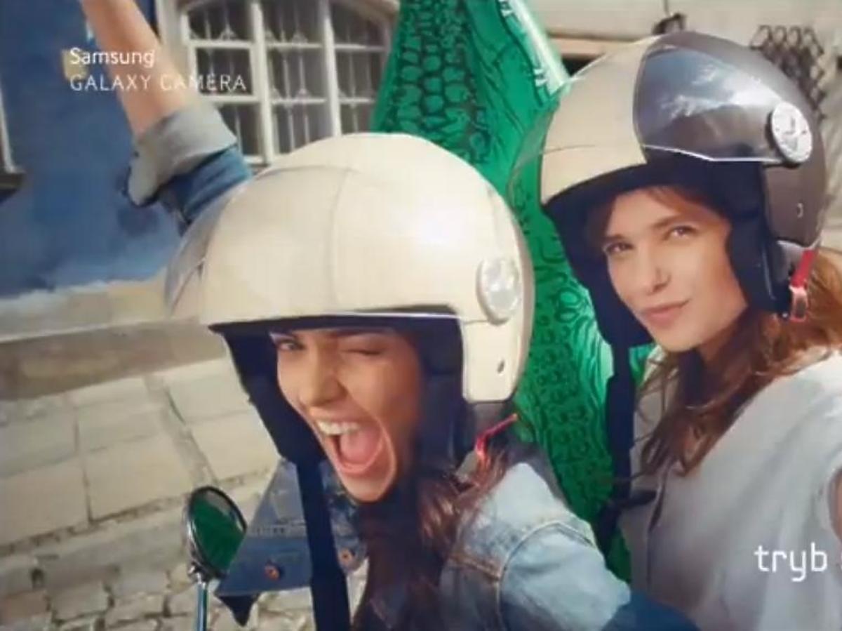 """Finalistki """"Top Model 3"""" w reklamie Samsunga"""