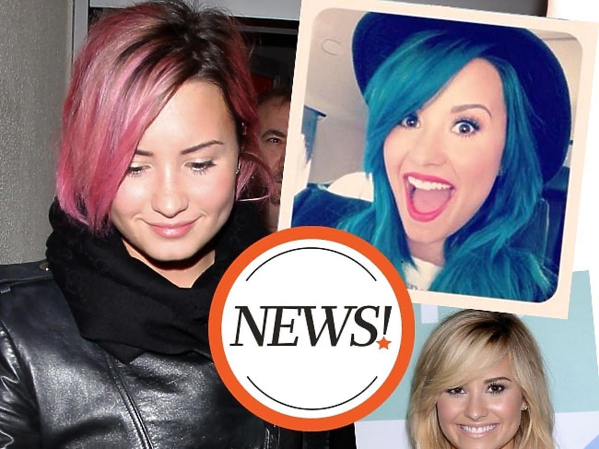 Fryzury gwiazd: Demi Lovato