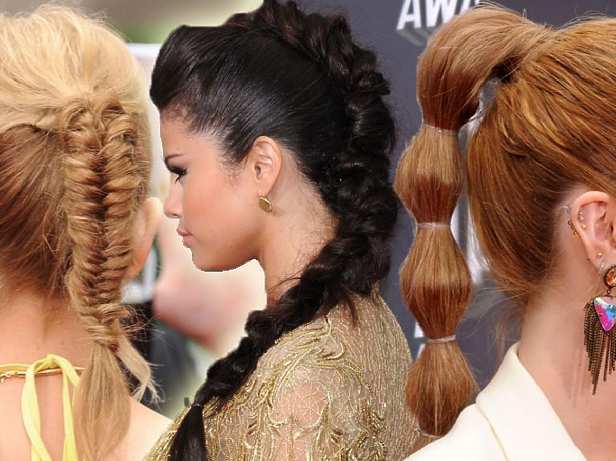 Fryzury i makijaże na MTV Movie Awards 2013