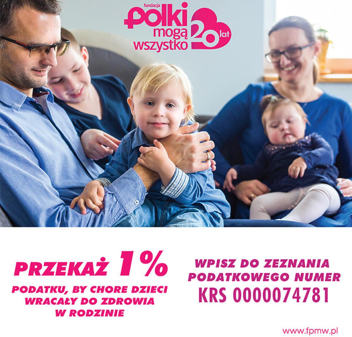 Fundacja Polki Mogą Wszystko. Przekaż 1%