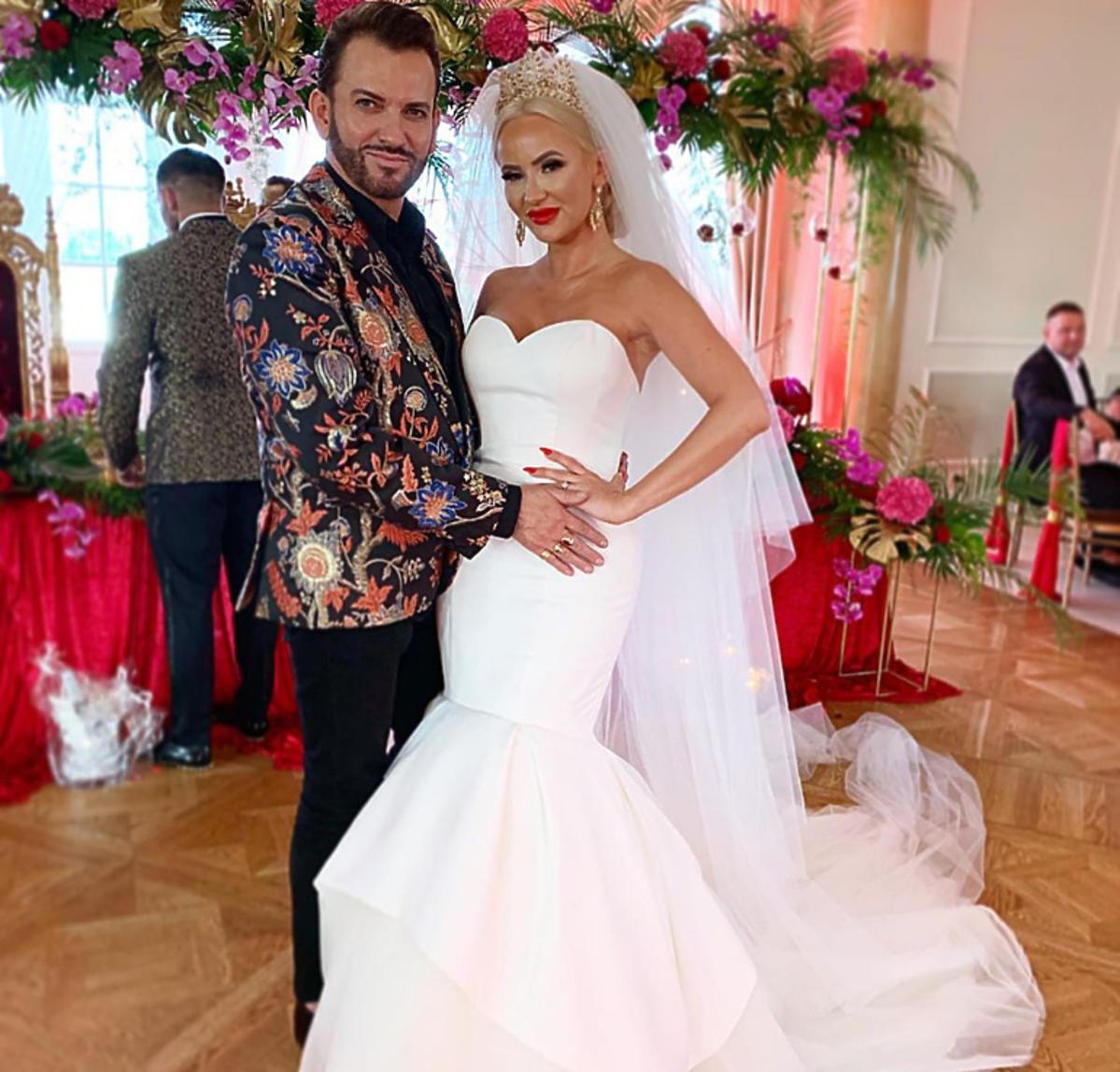 Gabriel Seweryn na ślubie Izabeli Macudzińskiej z programu