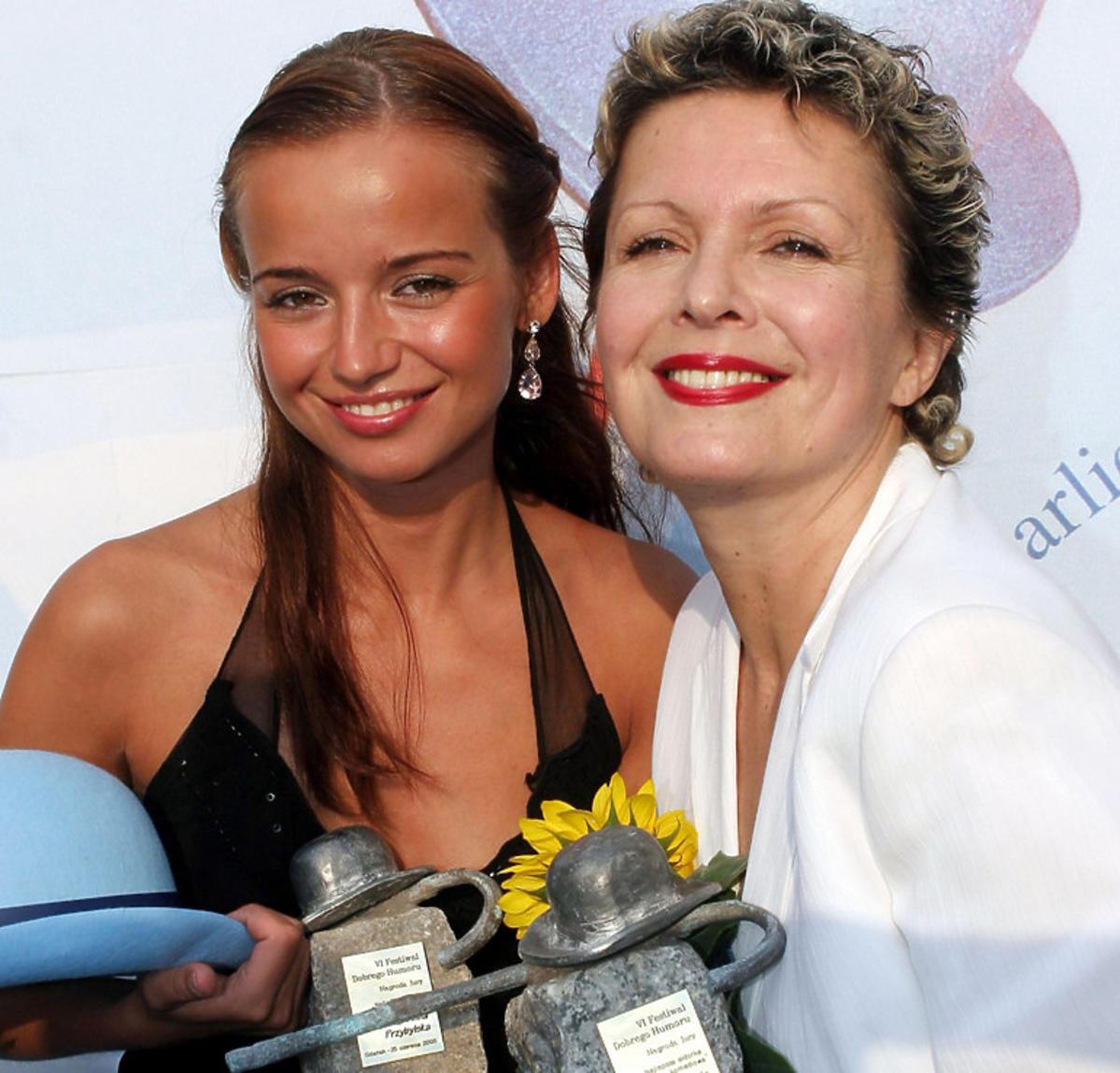 Gabriela Kownacka z Anną Przybylską