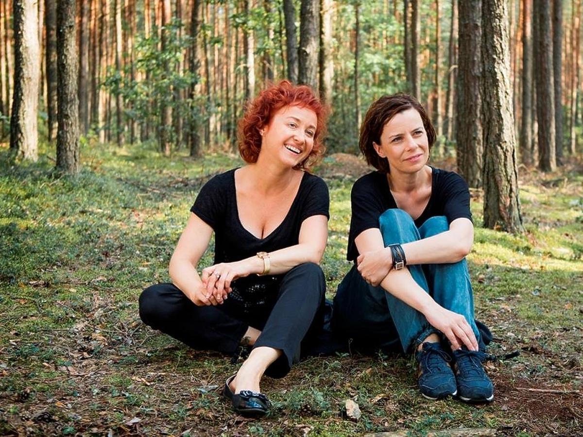 Gabriela Muskała i Agata Kulesza w filmie Moje córki krowy