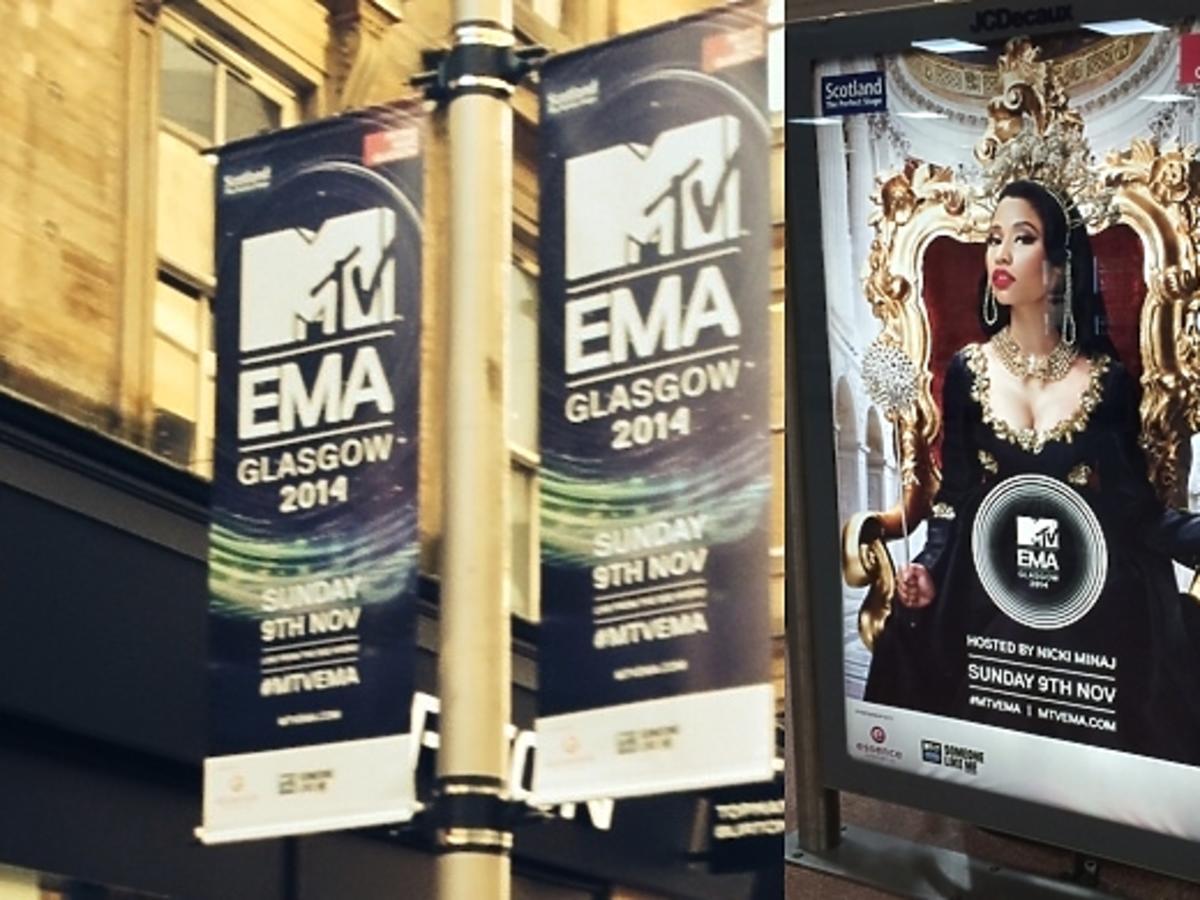 Gala MTV EMA 2014 od kulis