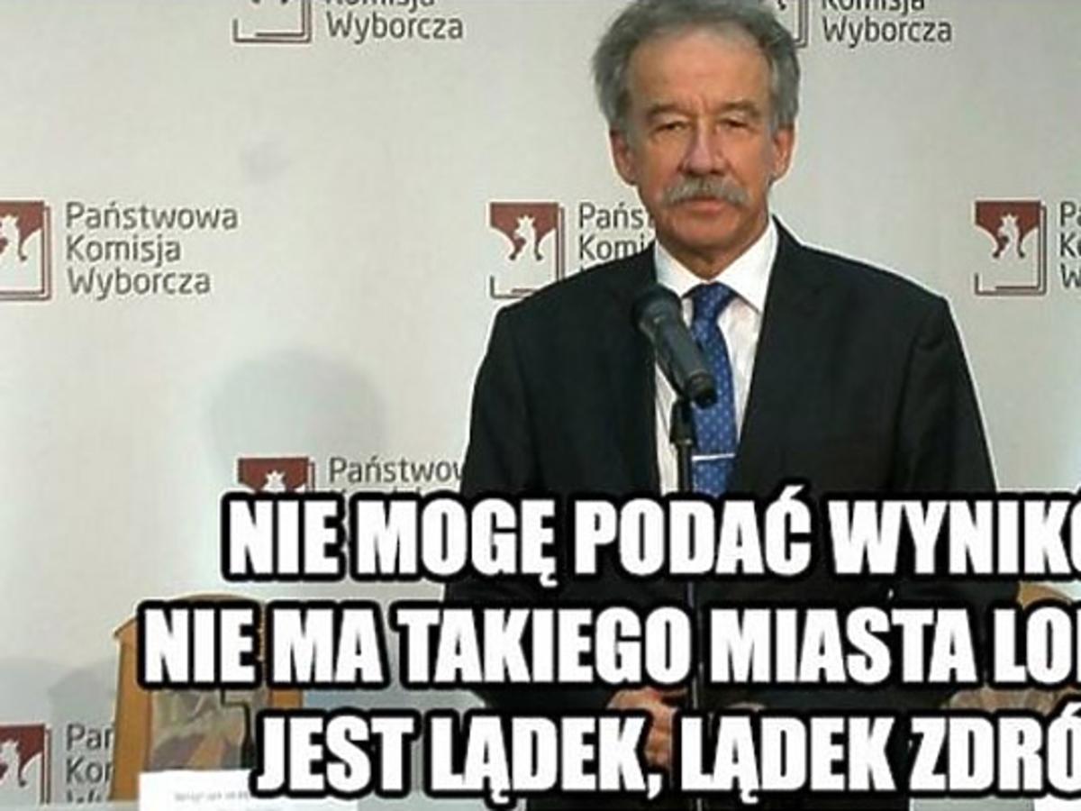 Galeria memów po opóźnionej konferencji Państwowej Komisji Wyborczej