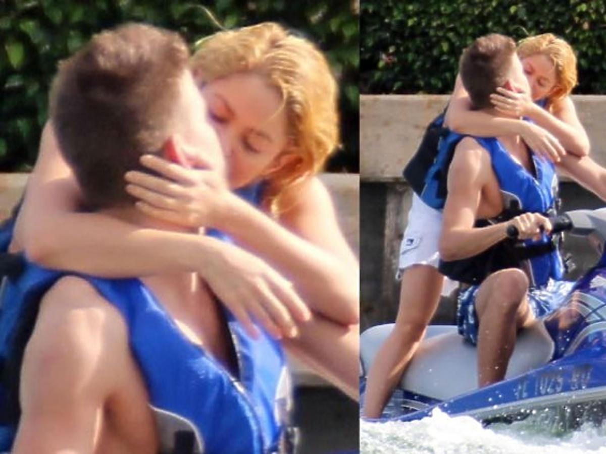 Gerard Pique i Shakira szaleją w wodzie