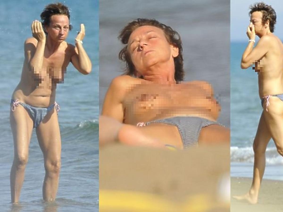 Gianna Nannini topless