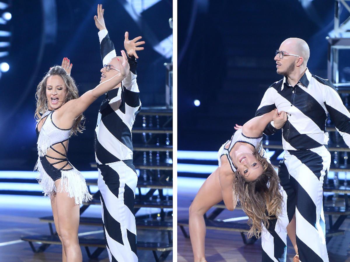 Gimper i Natalia Głębocka tańczą cha-chę w półfinale