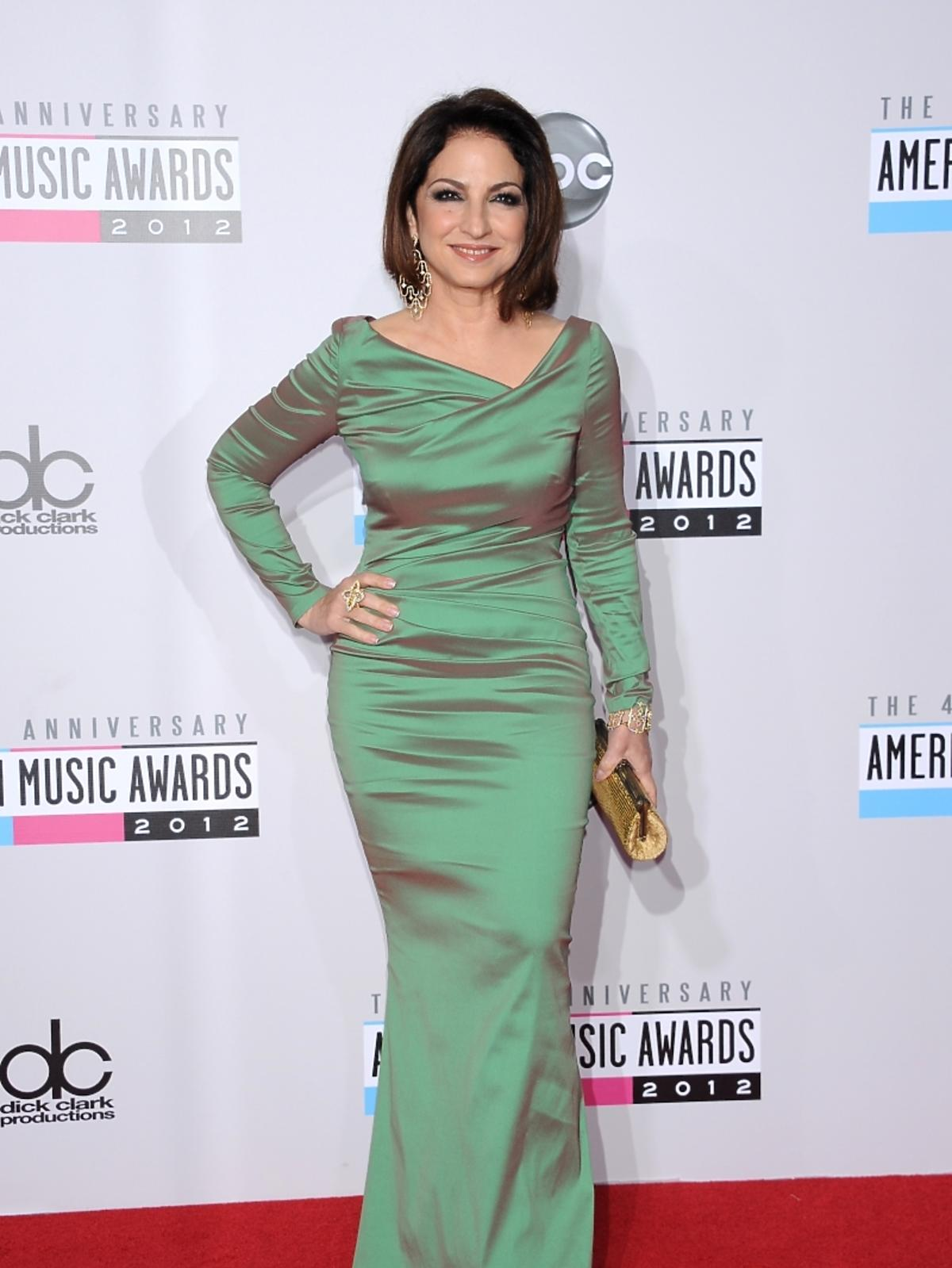 Gloria Estefan na rozdaniu nagród American Music Awards