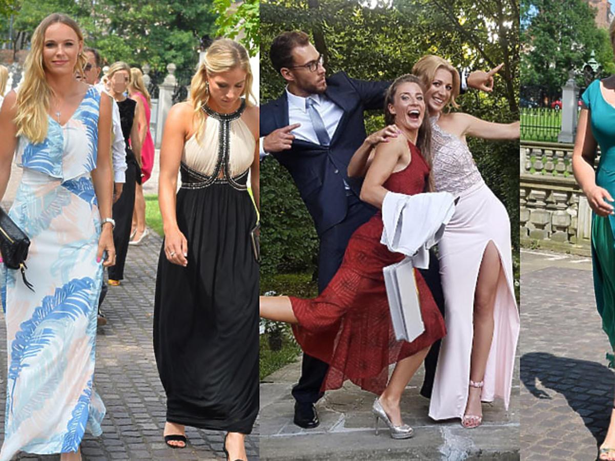 Goście na ślubie i weselu Radwańskiej