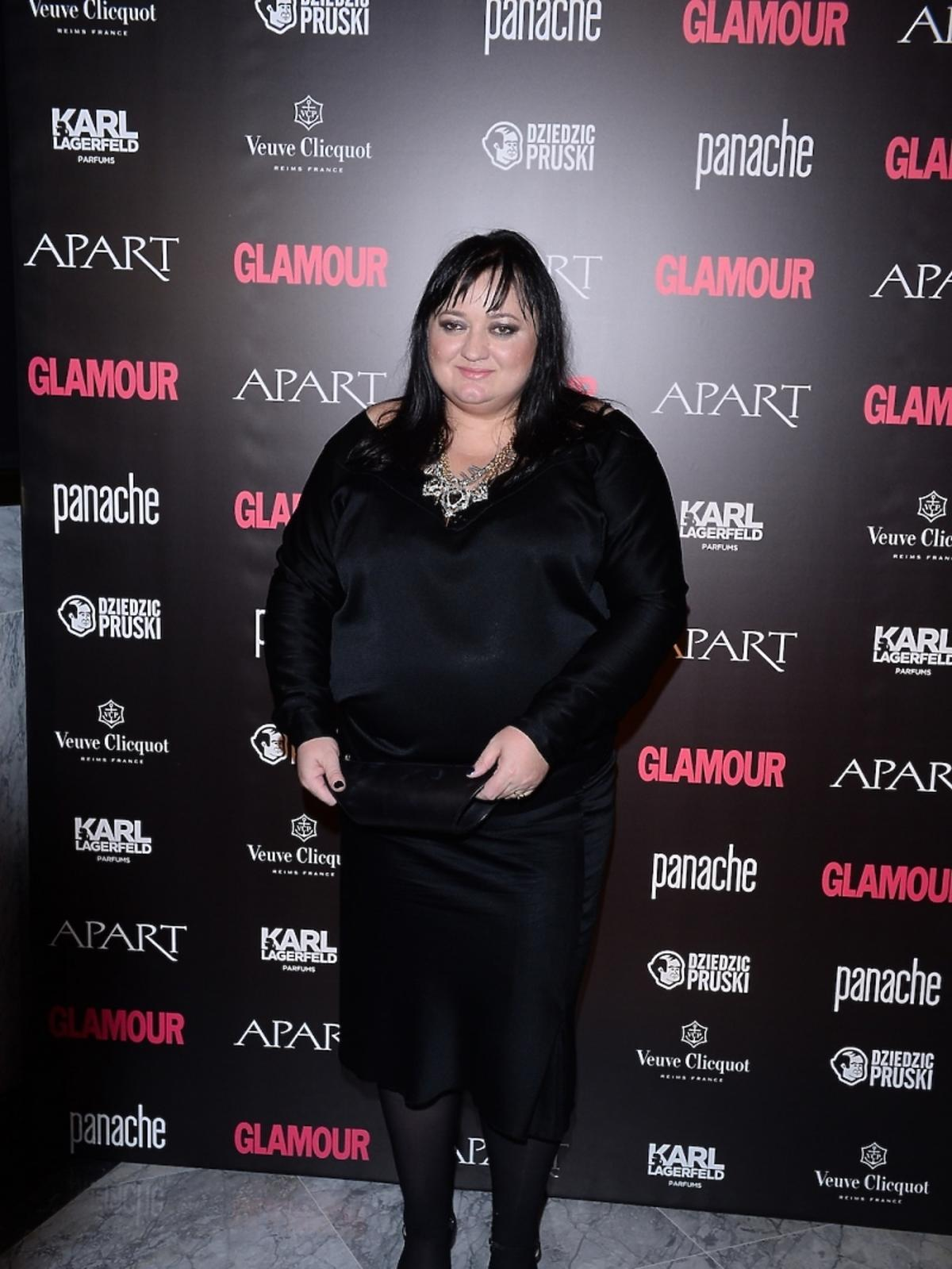 Gosia Baczyńska na Kobieta Roku Glamour 2014