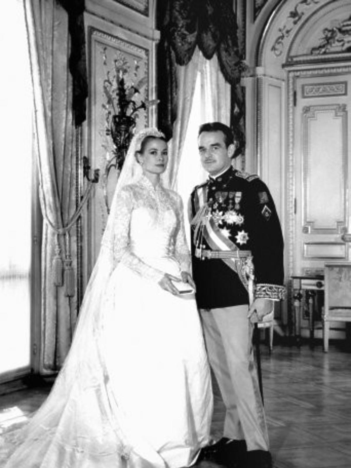 Grace Kelly i książę Rainier III
