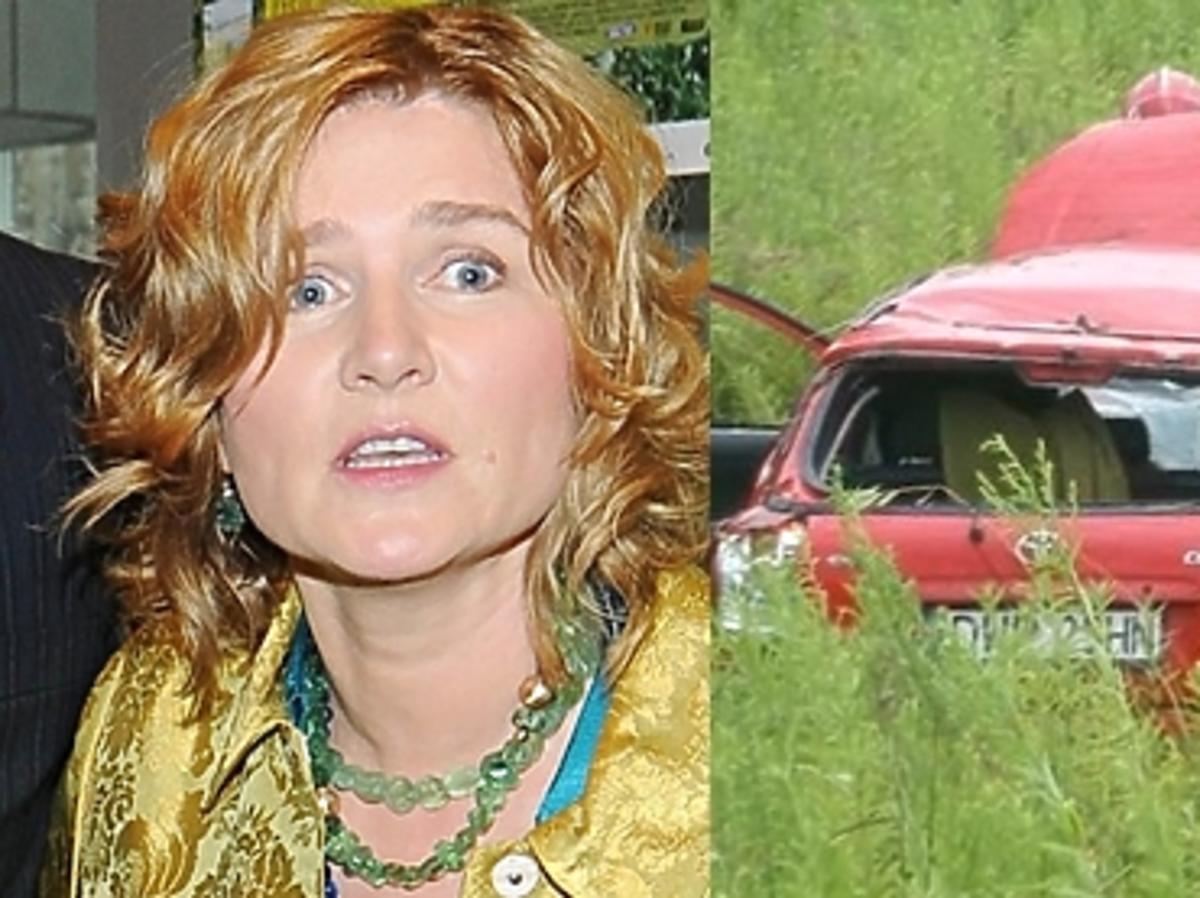 Grażyna Błęcka-Kolska miała wypadek