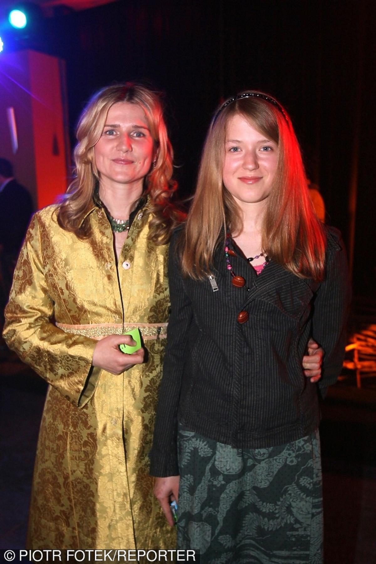 Grażyna Błęcka-Kolska z córką Zuzą