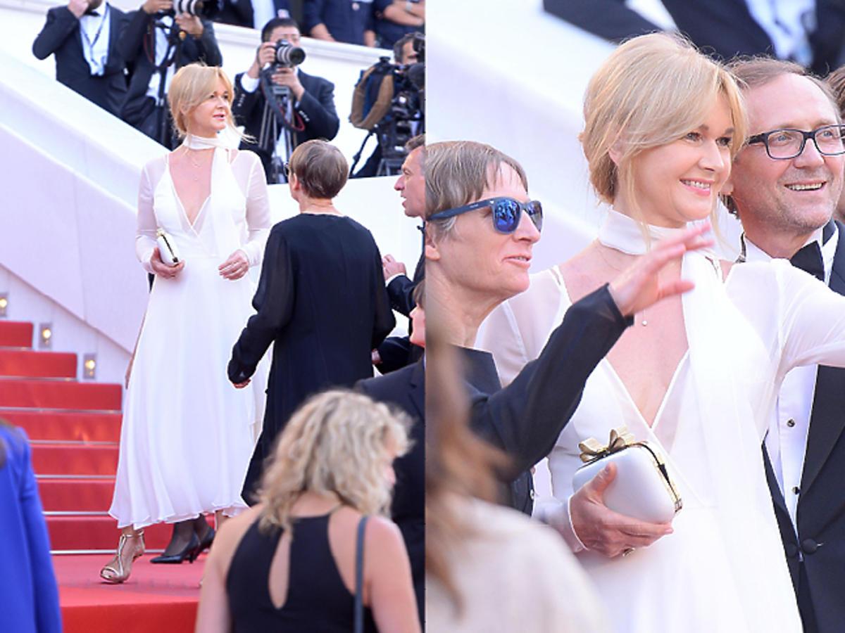 Grażyna Torbicka i Andrzej Chyra w Cannes