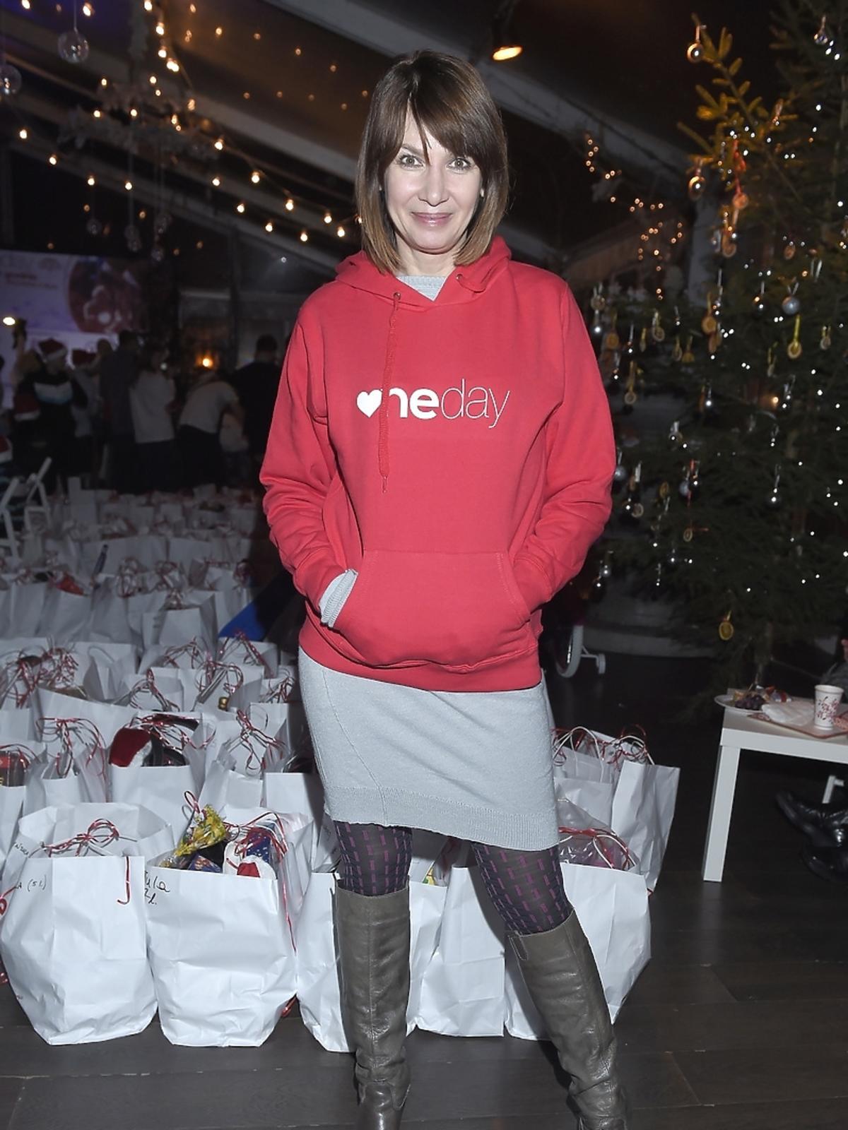 Grażyna Wolszczak na imprezie charytatywnej fundacji One Day