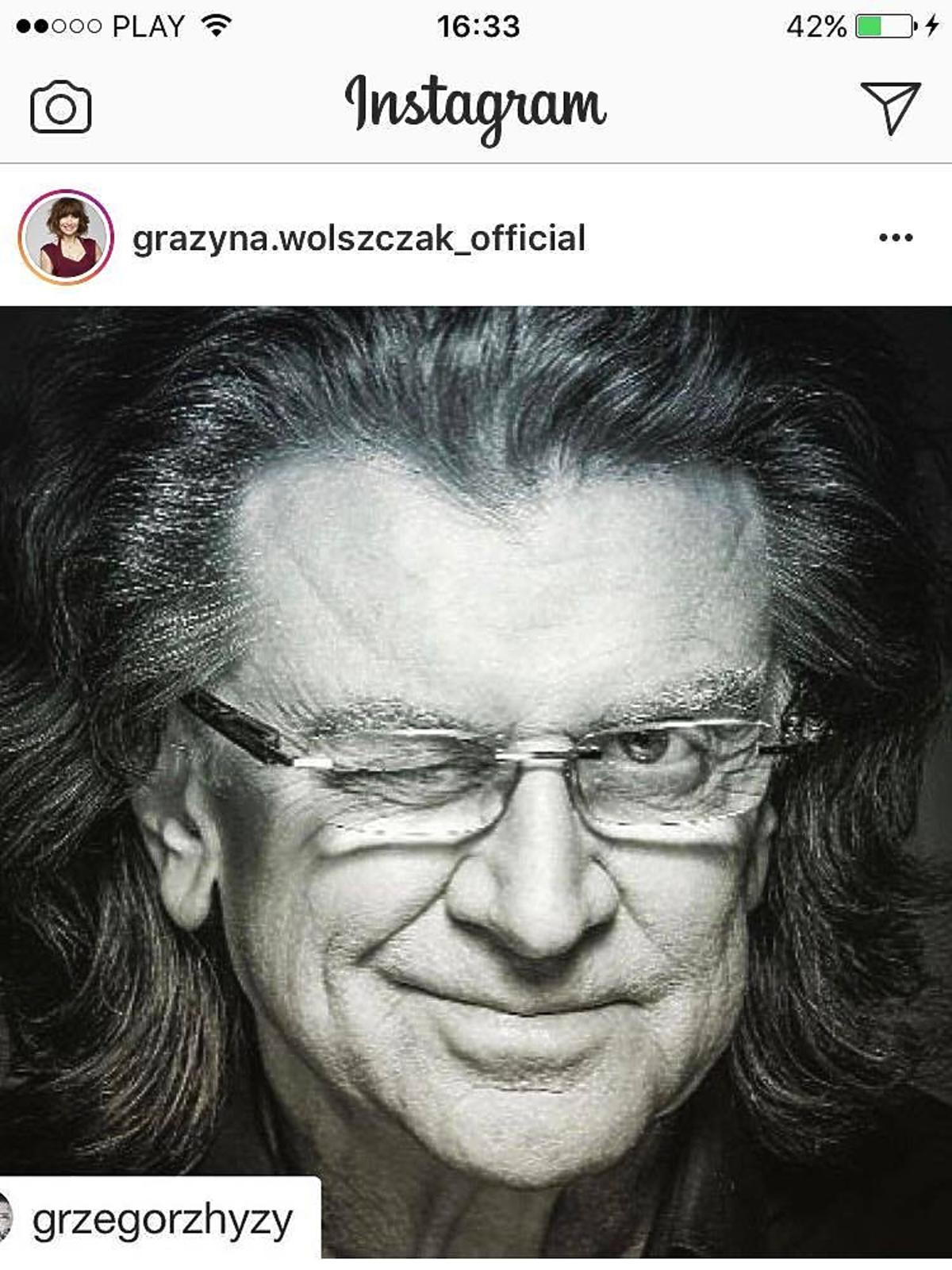 Grażyna Wolszczak żegna Zbigniewa Wodeckiego
