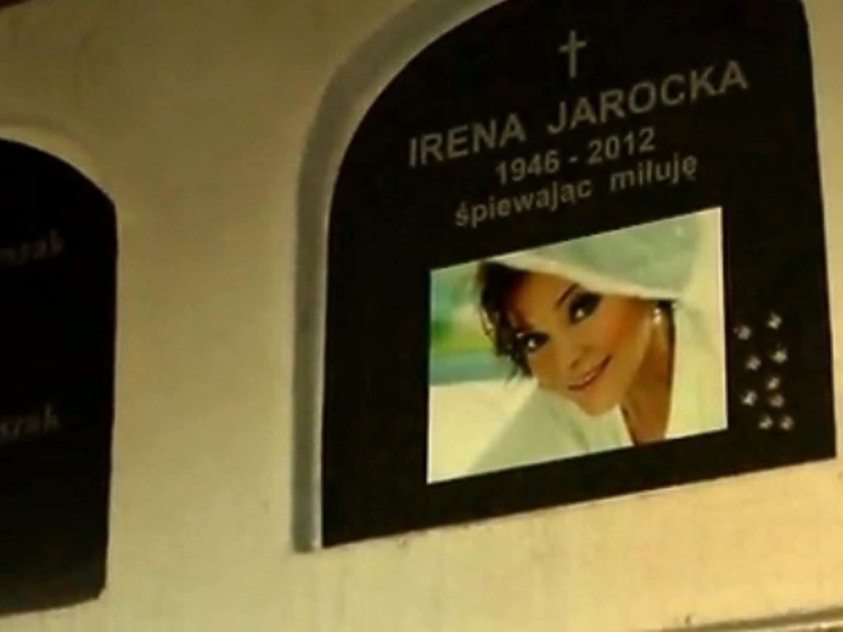 Grób Ireny Jarockiej