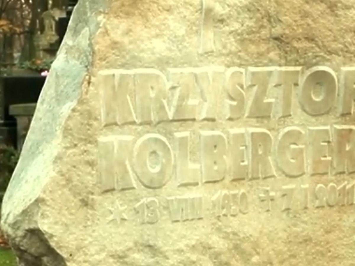 Grób Krzysztofa Kolbergera