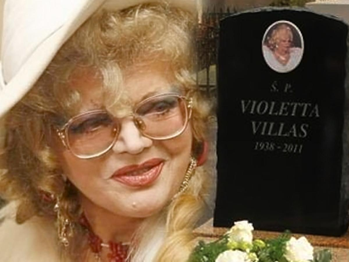 Grób Violetty Villas