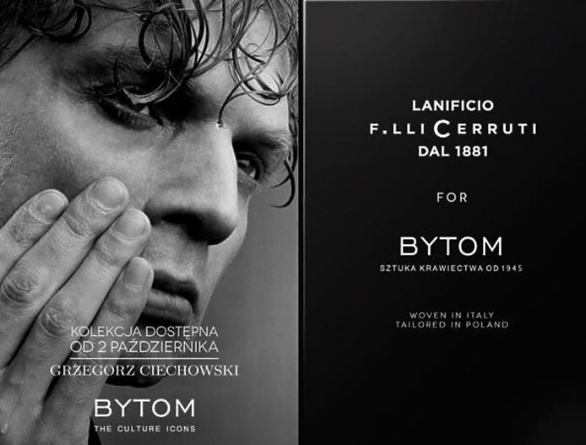 Grzegorz Ciechowski w reklamie Bytom