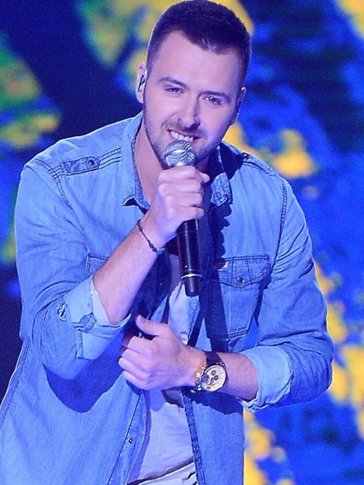 Grzegorz Hyży w finale programu