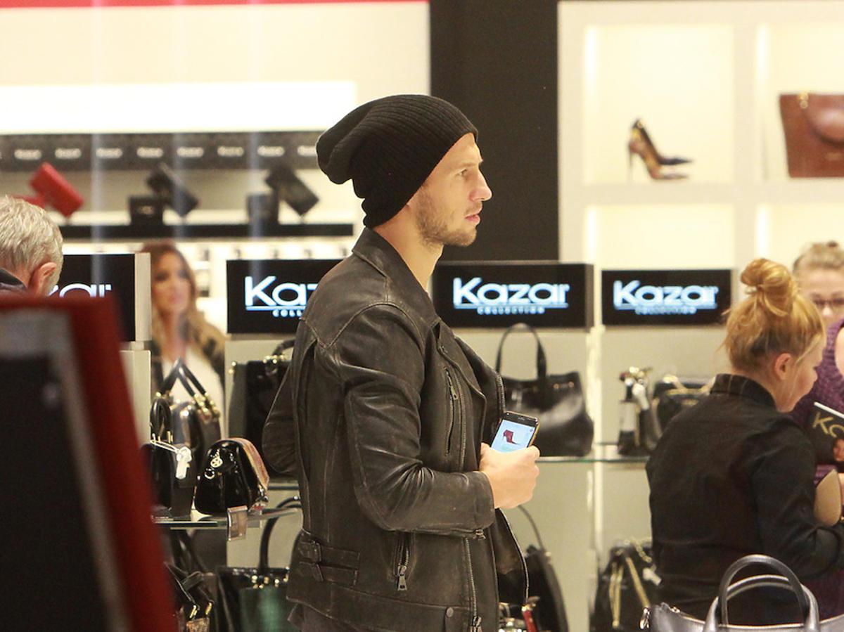 Grzegorz Krychowiak kupuje buty Kazar