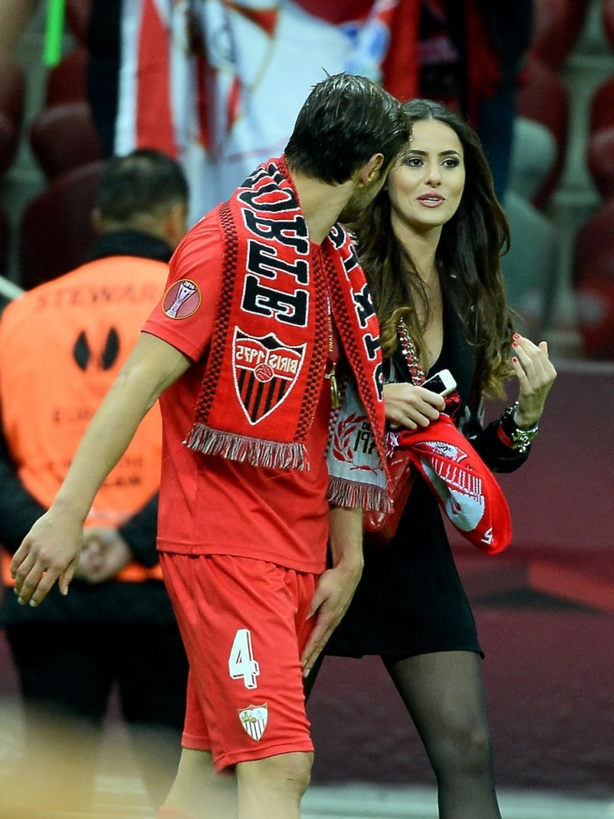Grzegorz Krychowiak pochwalił się swoją partnerką