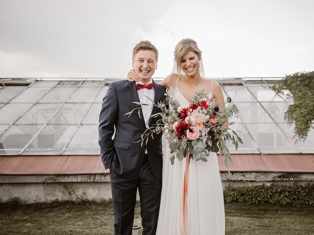 Grzegorz Łapanowski i Magdalena Święciaszek ślub
