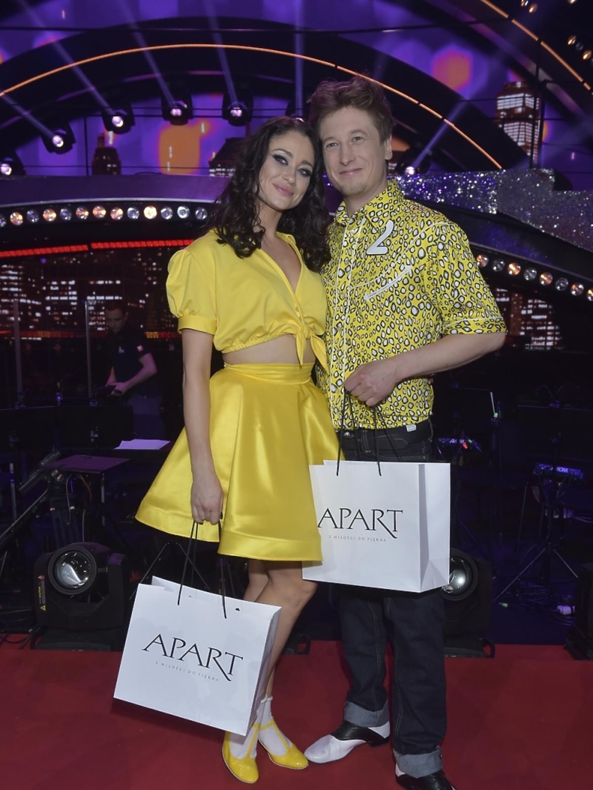 Grzegorz Łapanowski i Walerija Żurawlewa w