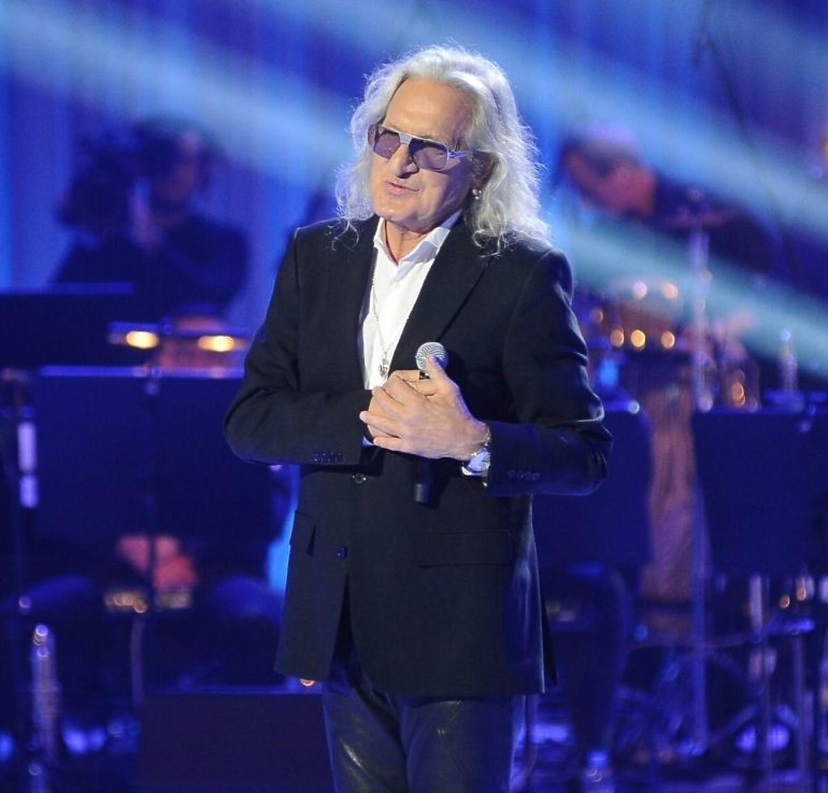 Grzegorz Markowski na scenie