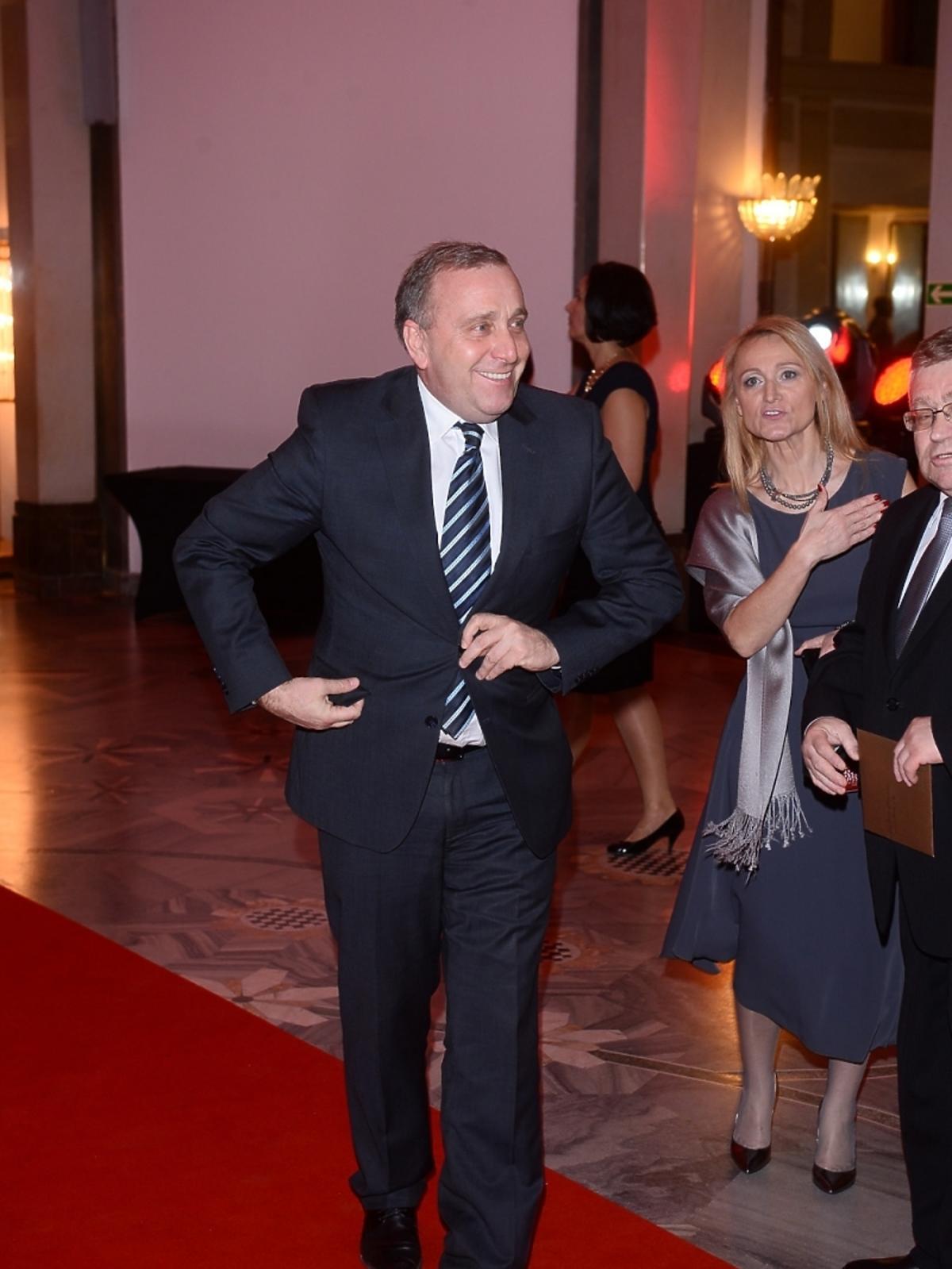 Grzegorz Schetyna na jubileuszowej gali 90-lecia Polskiego Radia