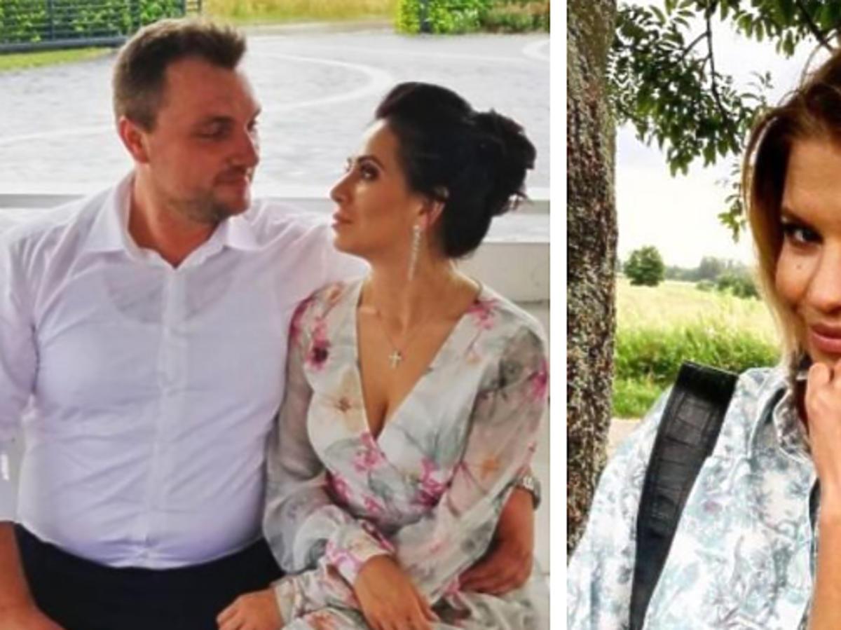 """Grzesiek z piątej edycji """"Rolnik szuka żony"""" z narzeczoną, Marta Manowska na planie programu"""