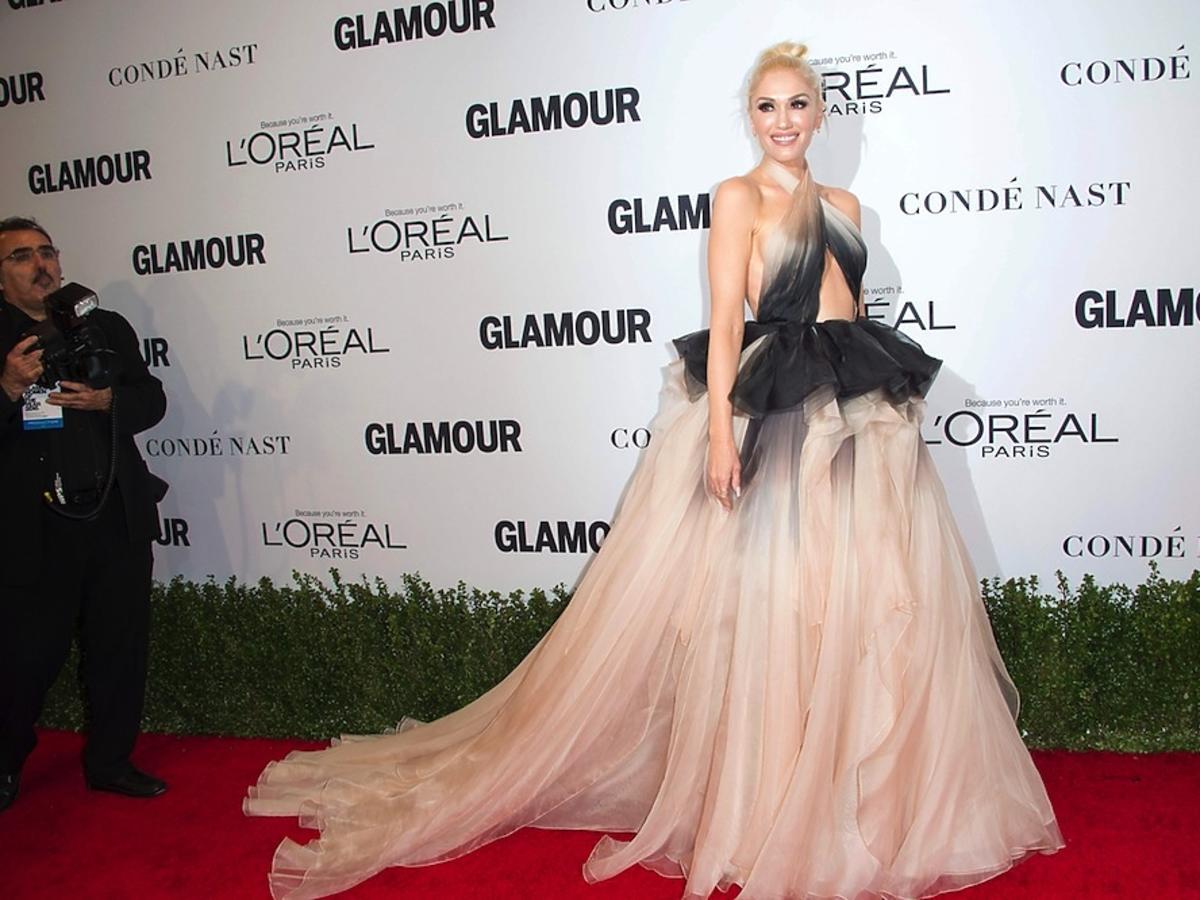 Gwen Stefani w długiej kreacji na czerwonym dywanie