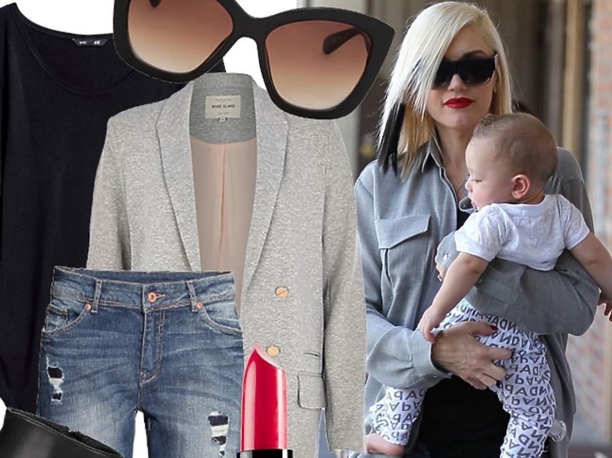 Gwen Stefani w dżinsach