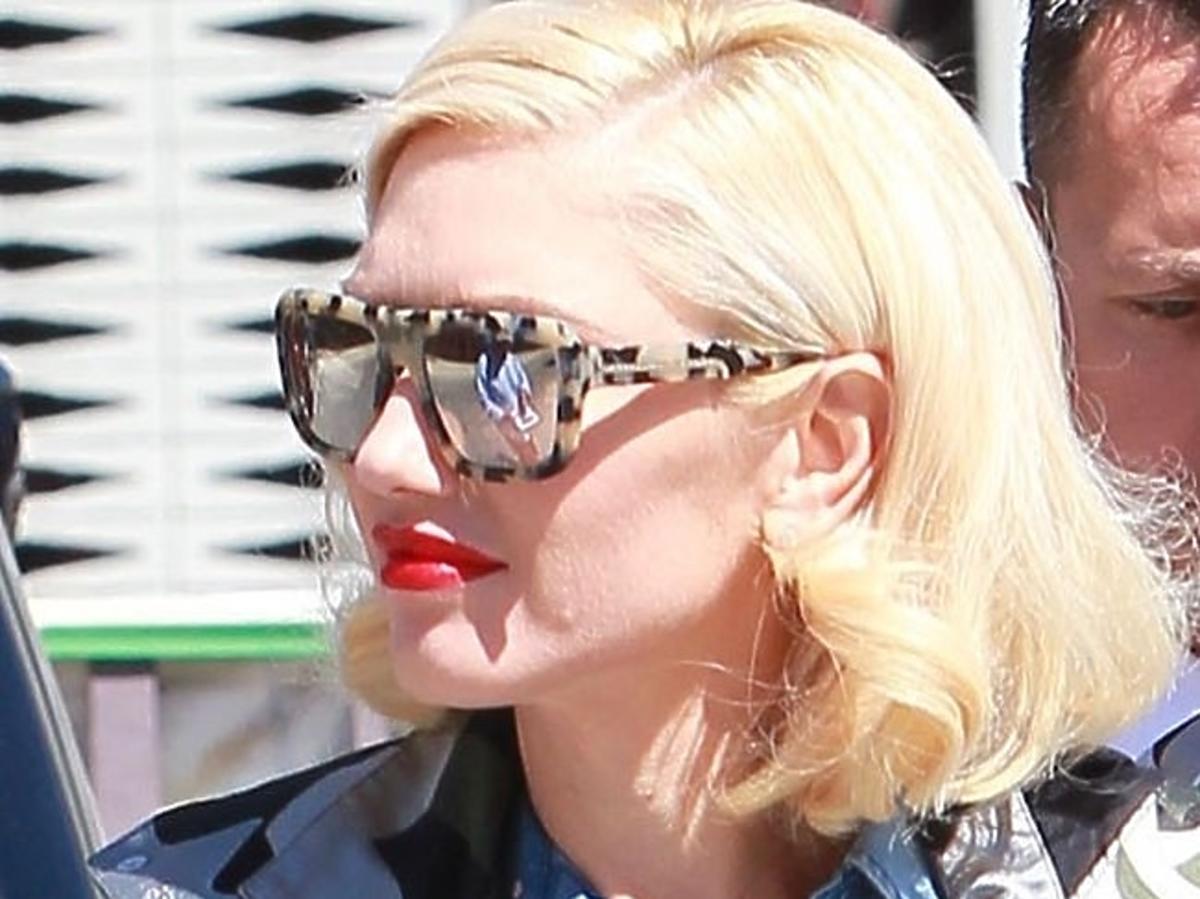 Gwen Stefani w kombinezonie