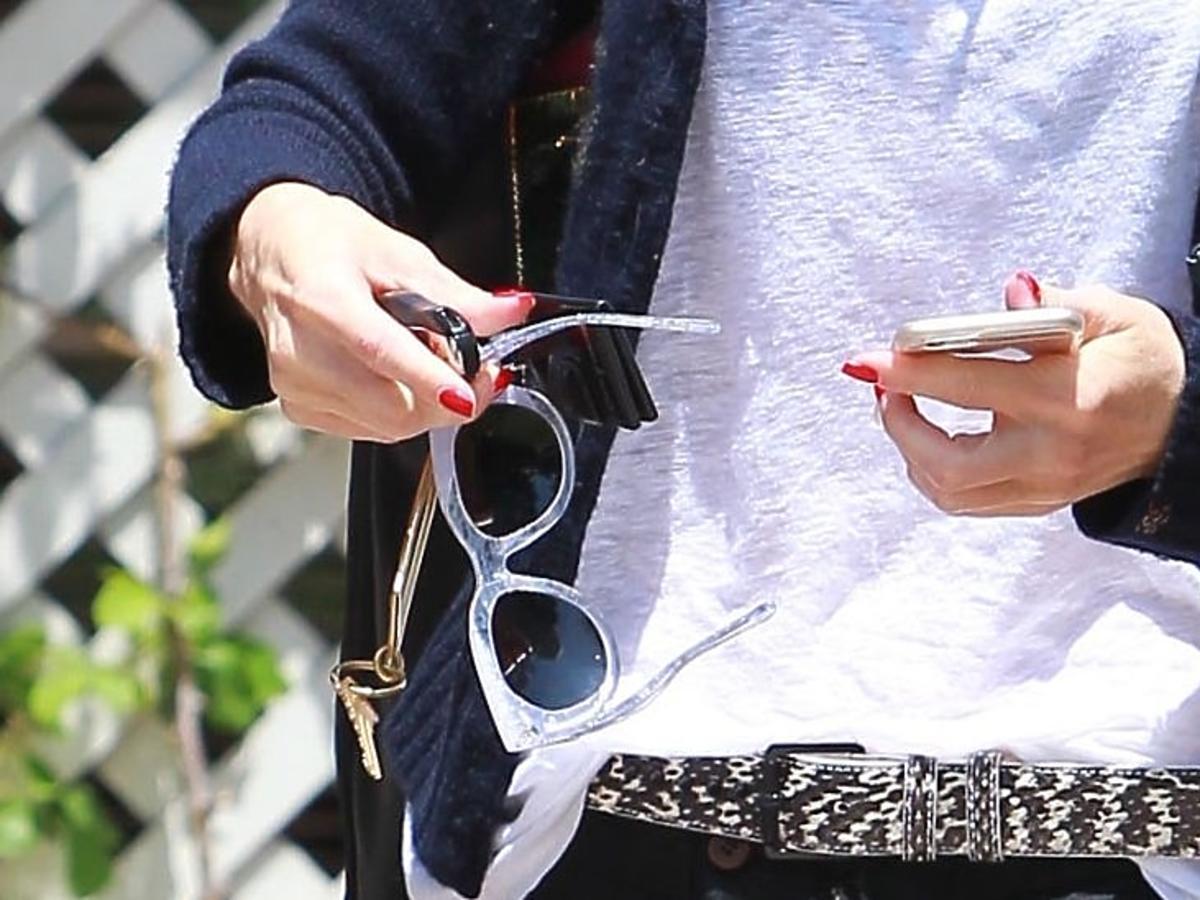Gwen Stefani w wielkich spodniach