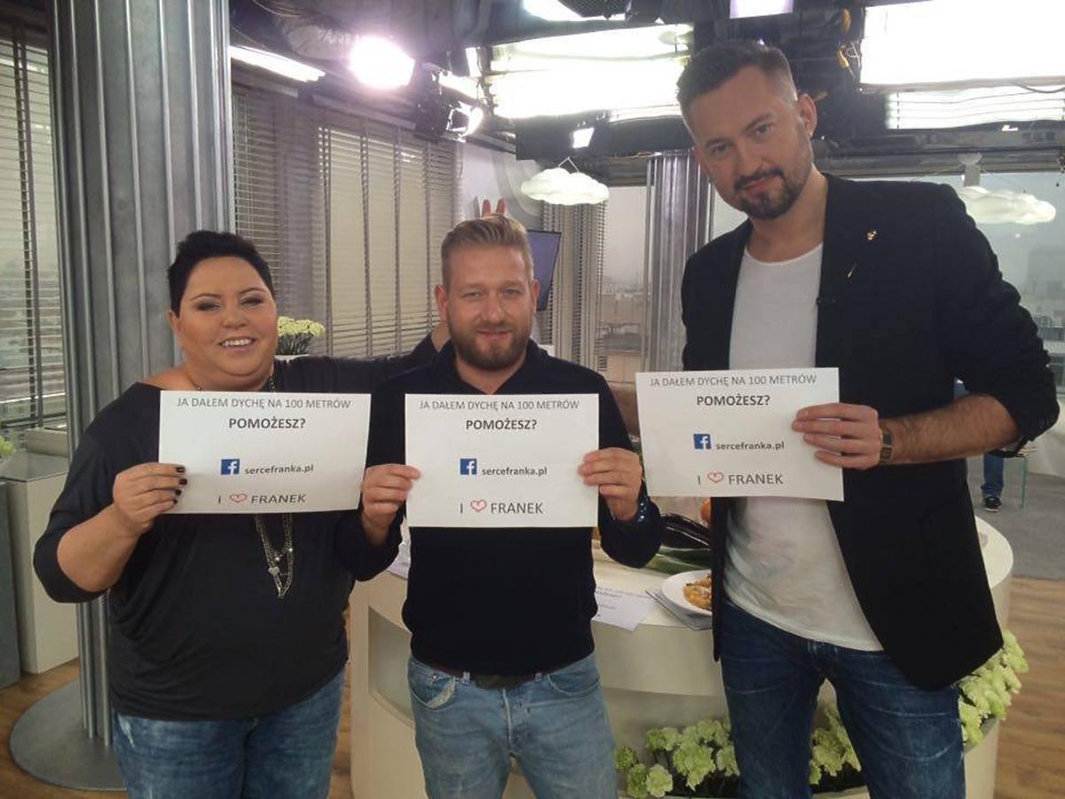Gwiazdy DDTVN wspierają akcję dla Franka