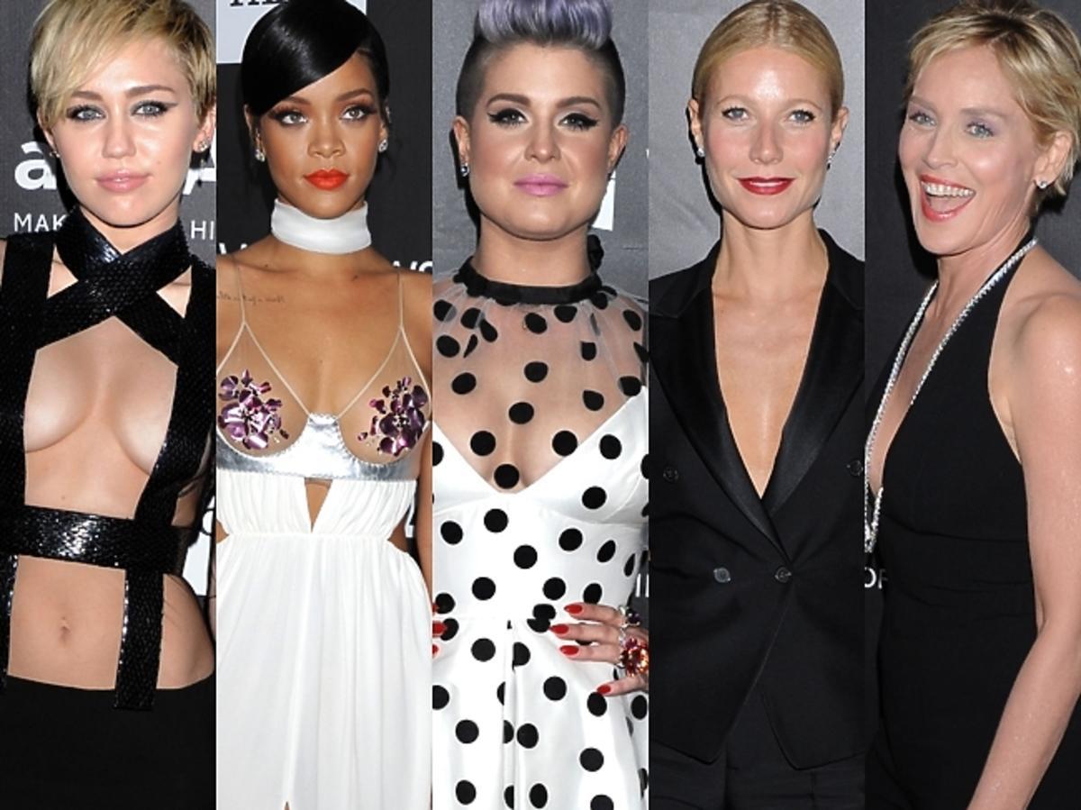 Gwiazdy na amfAR LA Inspiration Gala 2014