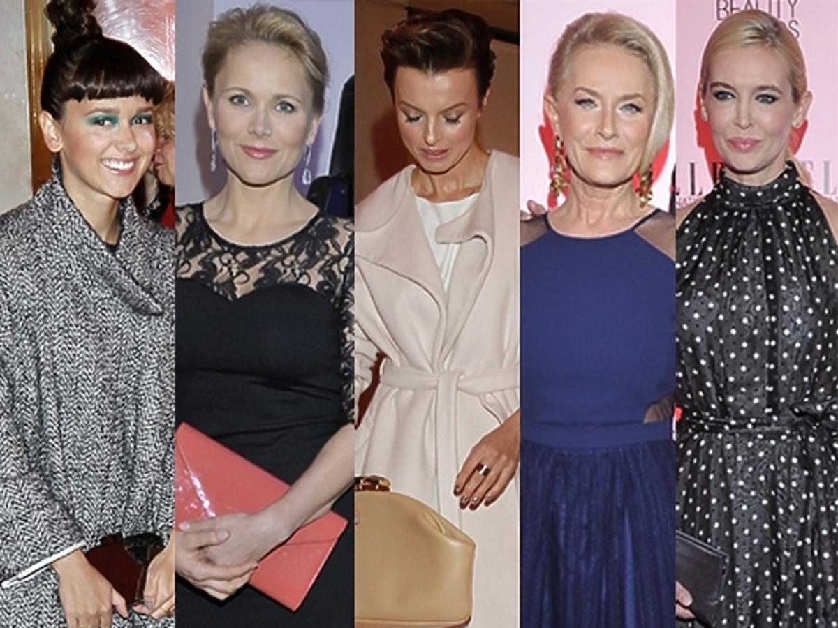 Gwiazdy na ELLE International Beauty Awards