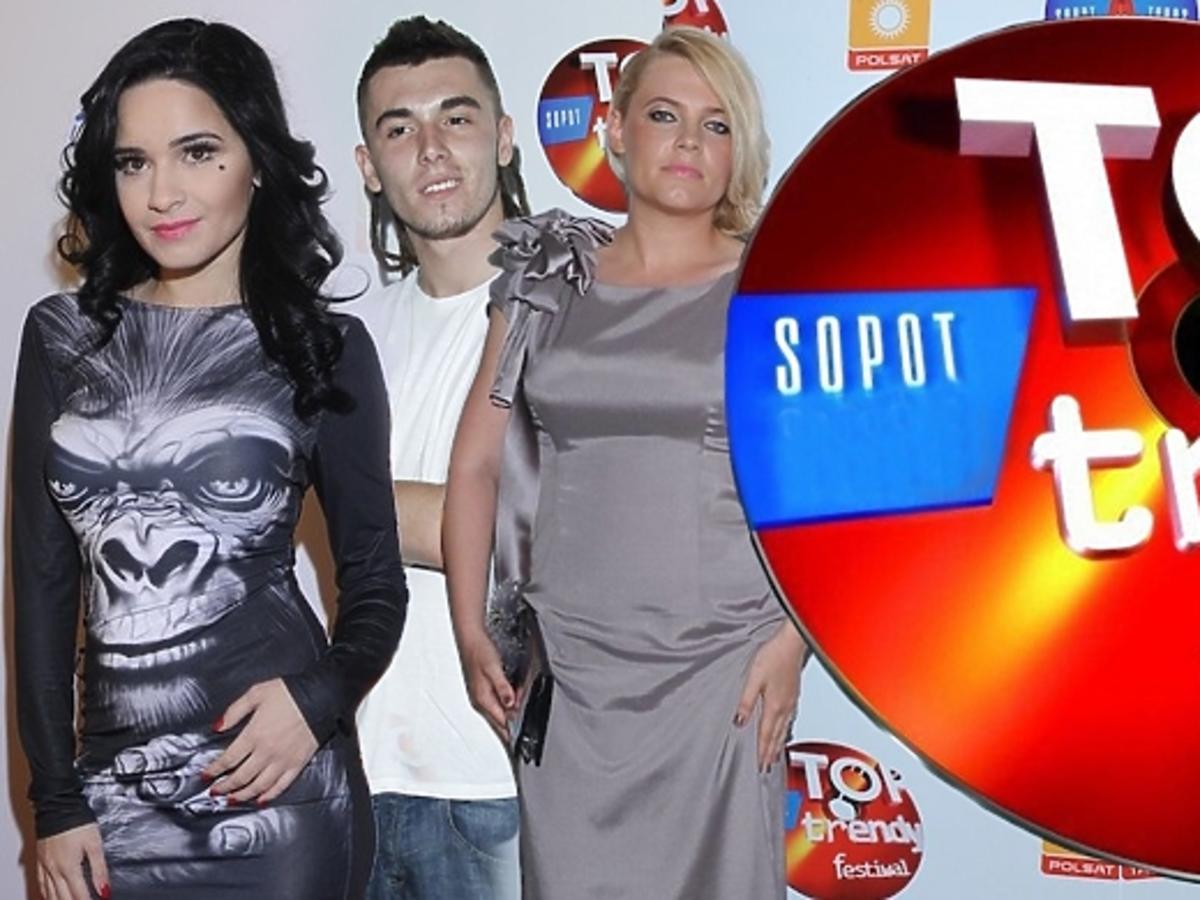 Gwiazdy na festiwalu Top Trendy 2013