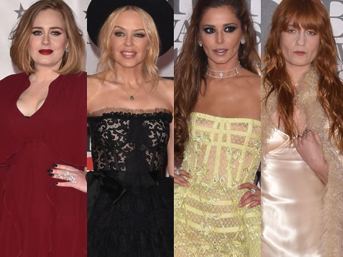 Gwiazdy na gali Brit Awards 2016