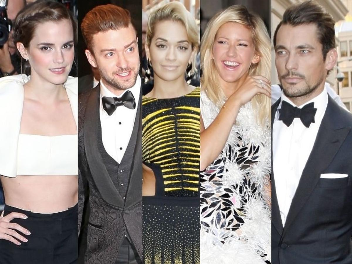 Gwiazdy na gali GQ Men Of The Year Awards 2013