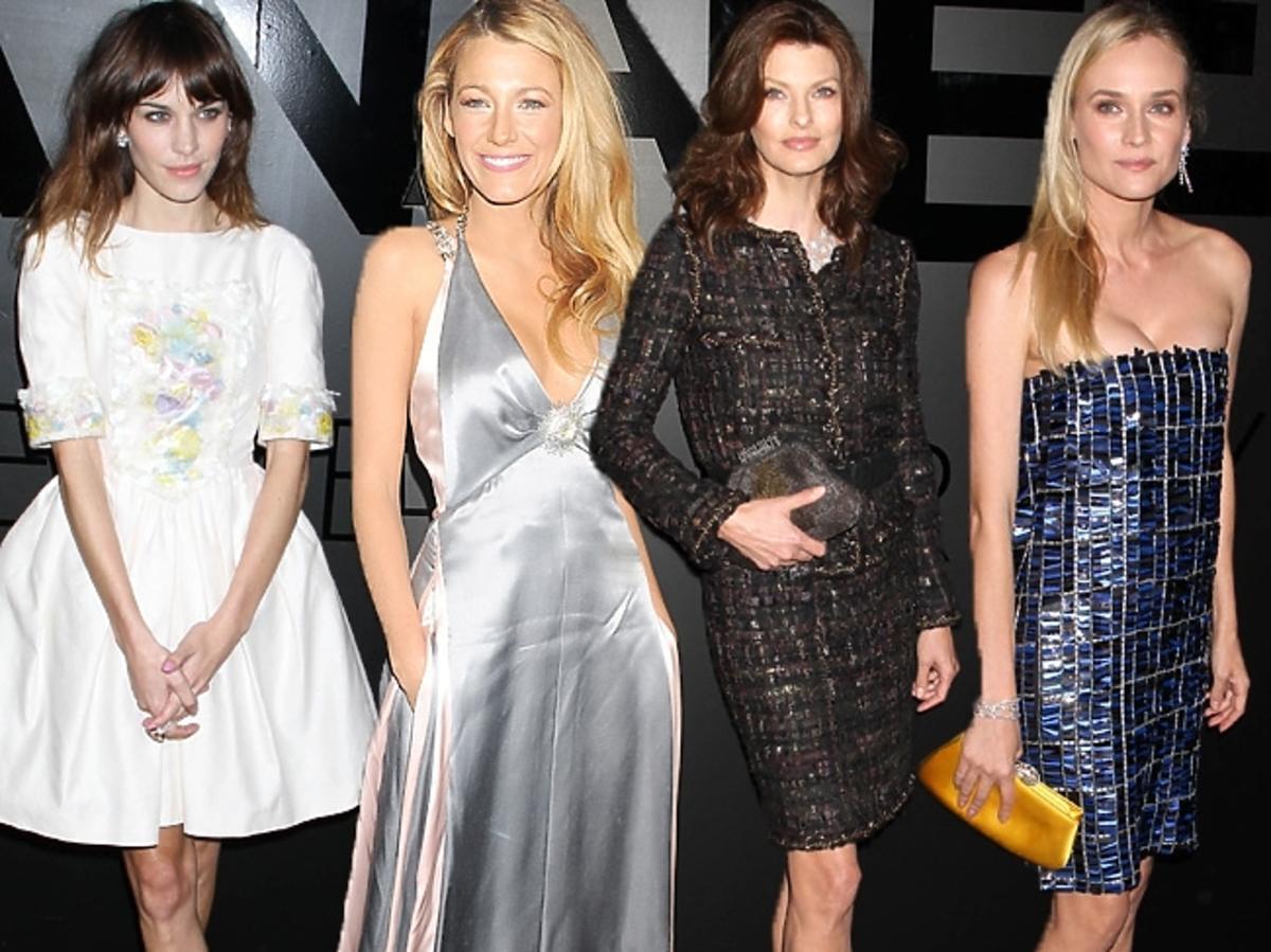 Gwiazdy na imprezie Chanel