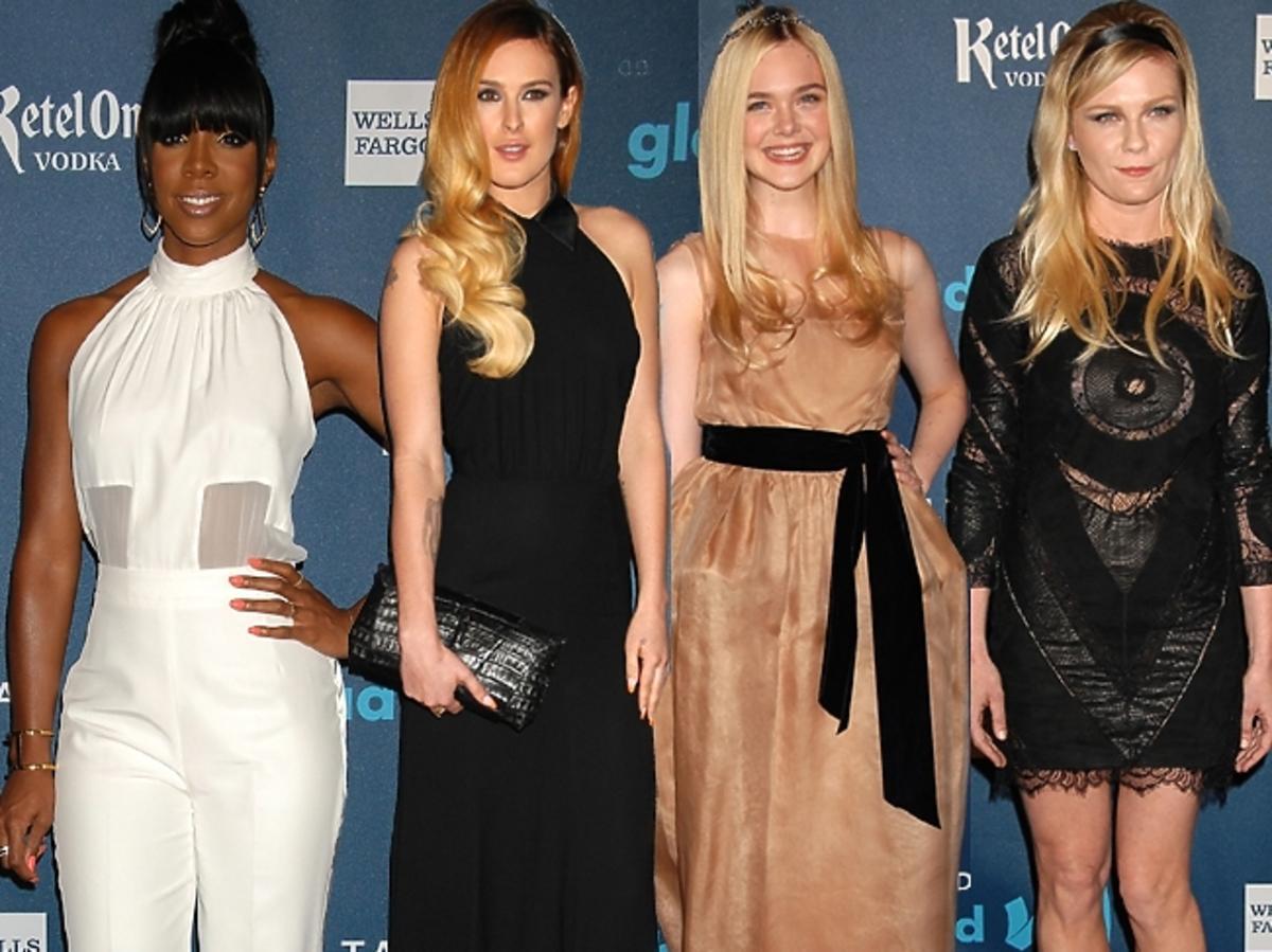 Gwiazdy na imprezie GLAAD Media Awards