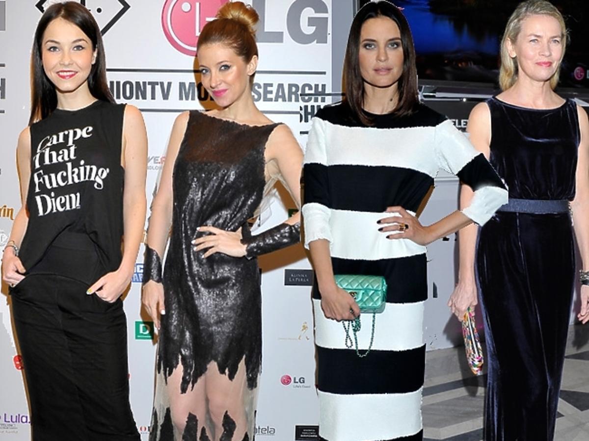 Gwiazdy na imprezie LG Fashion TV