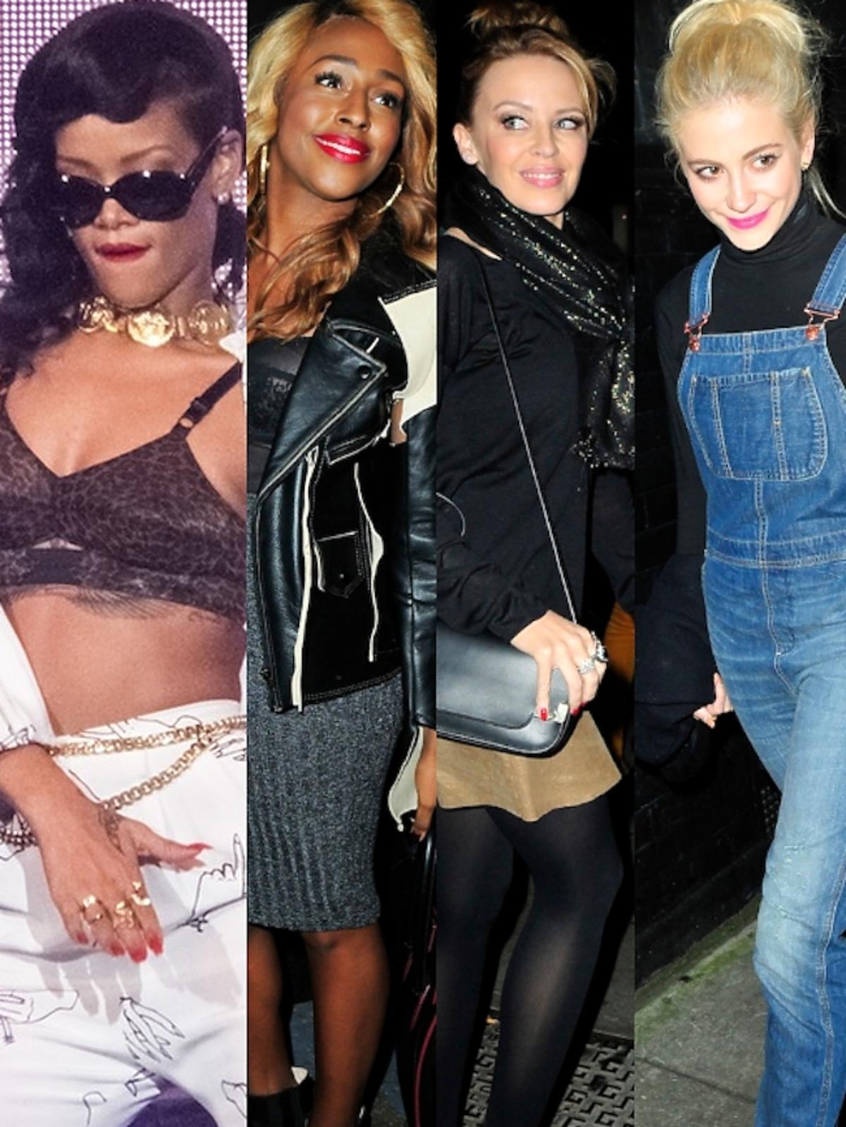 Gwiazdy na kocnercie Rihanny w Londynie